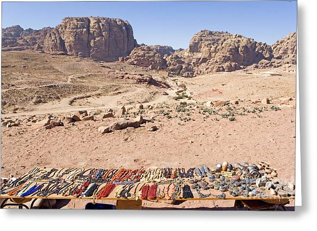 Petra - Jordan Greeting Cards - Petra, Jordan Greeting Card by Adam Sylvester