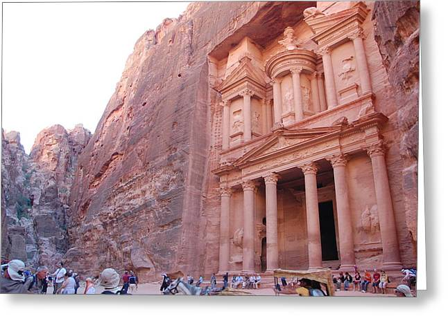 Petra Greeting Cards - Petra Greeting Card by Kendell Timmers