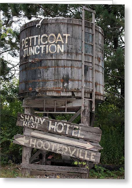 Old Tv Photographs Greeting Cards - Petticoat Junction Greeting Card by Kristin Elmquist