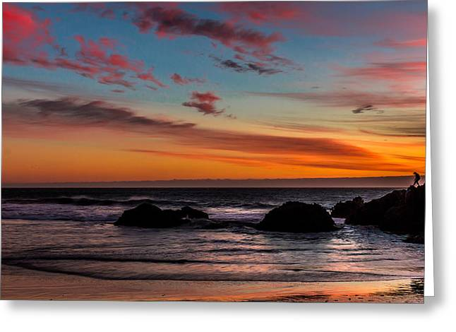 Pfeiffer Beach Greeting Cards - Pfeiffer Beach Greeting Card by Chakravarthy Kotaru