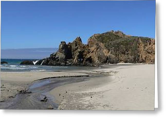 Pfeiffer Beach Greeting Cards - Pfeiffer Beach Greeting Card by Steve  Ondrus