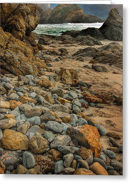 Pfeiffer Beach Greeting Cards - Pfeiffer Beach1 Greeting Card by Tom  Reed