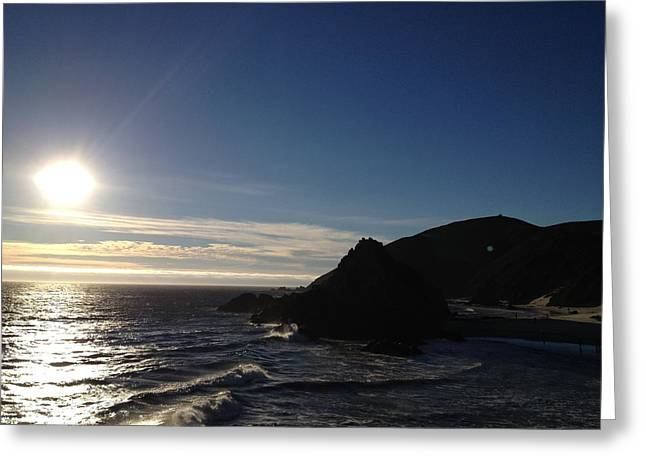 Pfeiffer Beach Greeting Cards - Pfeiffer Ocean View-2 Greeting Card by Tom  Shaw
