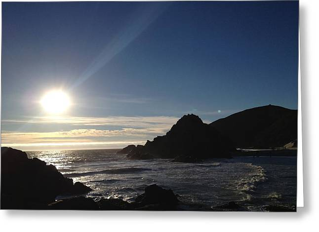 Pfeiffer Beach Greeting Cards - Pfeiffer Ocean View Greeting Card by Tom  Shaw