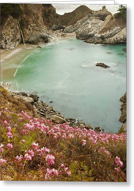 Pfeiffer Beach Greeting Cards - Pfieffer beach Greeting Card by Greg Wyatt