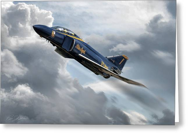 Usn Greeting Cards - Phantom Angel Greeting Card by Peter Chilelli