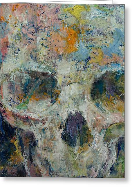 Plague Greeting Cards - Pharaoh Greeting Card by Michael Creese