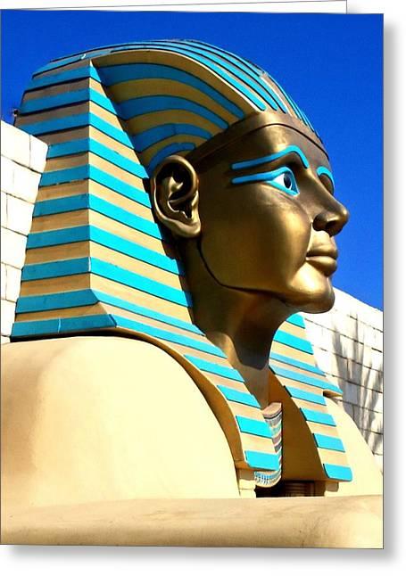 Pharaoh Greeting Cards - Pharaohs Lost Kingdom 3 Greeting Card by Randall Weidner