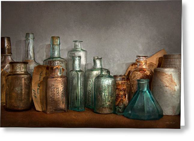 Pharmacy - Doctor I Need A Refill  Greeting Card by Mike Savad