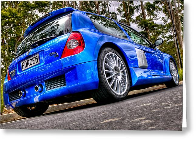 Phase 2 Clio V6 Greeting Card by motography aka Phil Clark