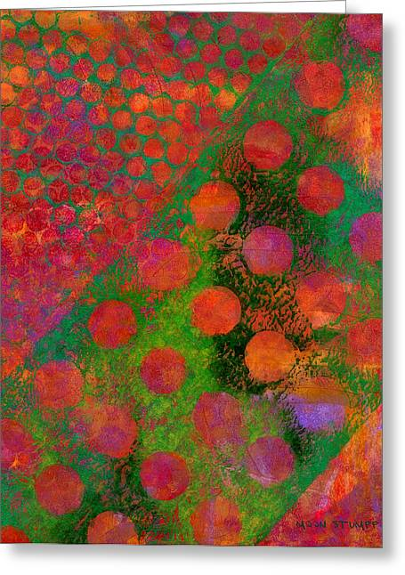 Abstract Movement Greeting Cards - Phase series - Direction Greeting Card by Moon Stumpp