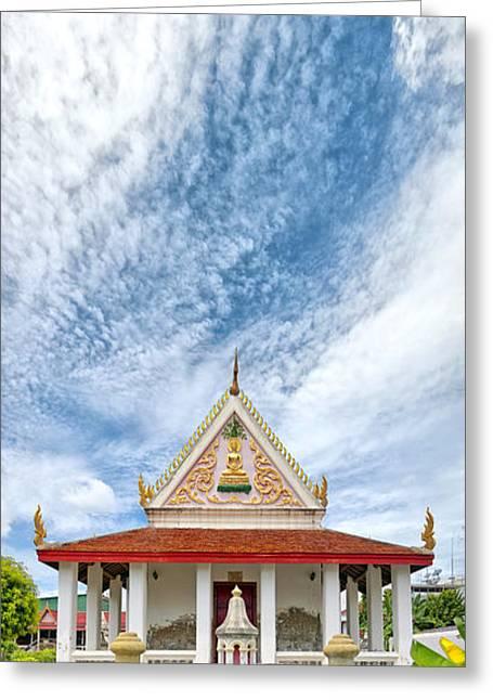 Phetchaburi Greeting Cards - Phetchaburi Temple 06 Greeting Card by Antony McAulay