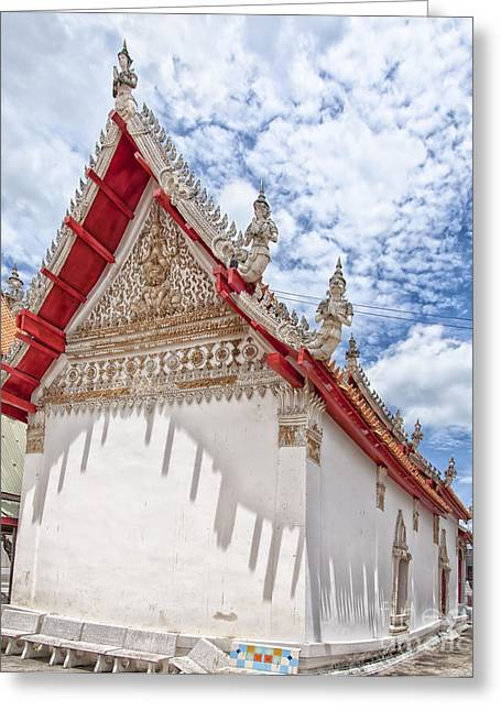 Phetchaburi Greeting Cards - Phetchaburi Temple 23 Greeting Card by Antony McAulay