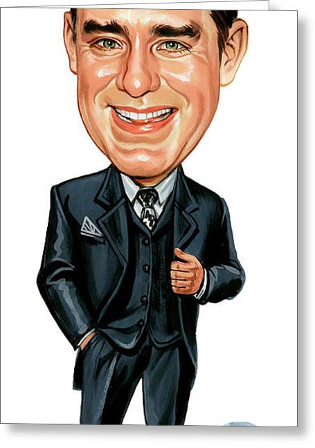 Phils Greeting Cards - Phil Hartman Greeting Card by Art