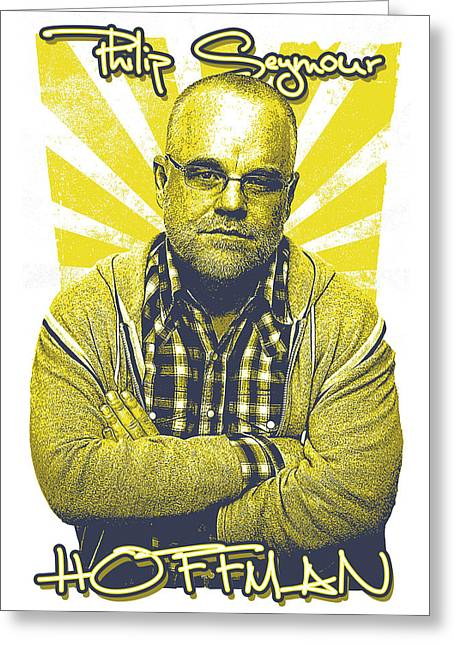 Capote Greeting Cards - Phil Greeting Card by Kyle Willis
