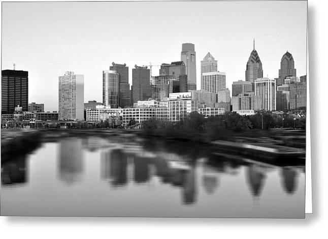 South Philadelphia Photographs Greeting Cards - Philadelphia 2 Greeting Card by Andrew Dinh