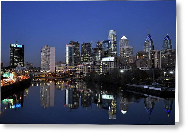 South Philadelphia Photographs Greeting Cards - Philadelphia 3 Greeting Card by Andrew Dinh