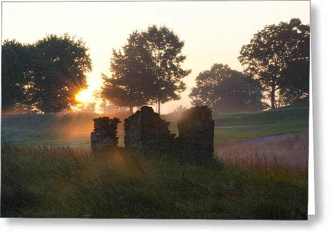 Erdenheim Greeting Cards - Philadelphia Cricket Club at Sunrise Greeting Card by Bill Cannon