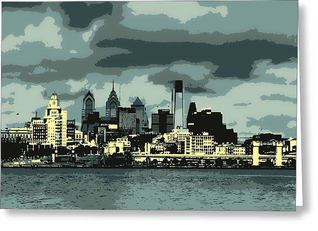Philadelphia Framed Prints Greeting Cards - Philadelphia Greeting Card by Melinda Dreyer