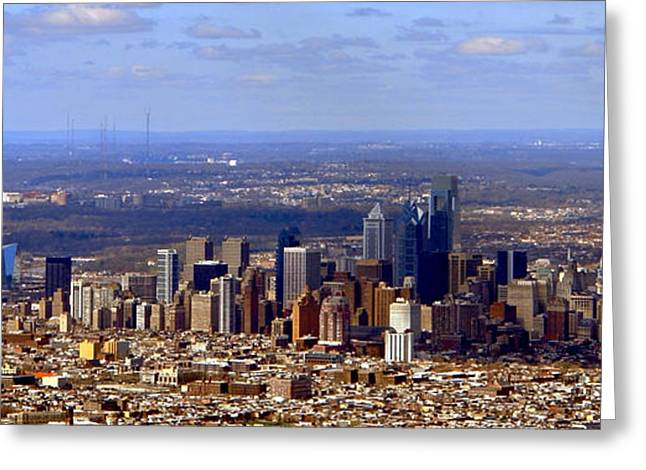 Philadelphia Greeting Cards - Philadelphia Greeting Card by Olivier Le Queinec