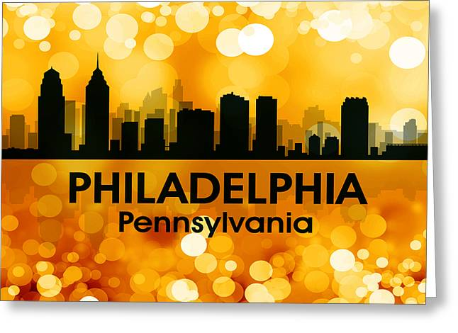 Industrial Icon Greeting Cards - Philadelphia PA 3 Greeting Card by Angelina Vick