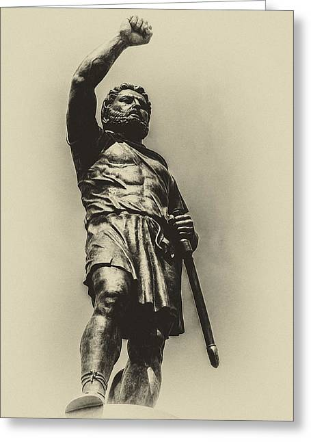 Recently Sold -  - Greek Sculpture Greeting Cards - Philip 2 of Macedon Greeting Card by Yevgeni Kacnelson