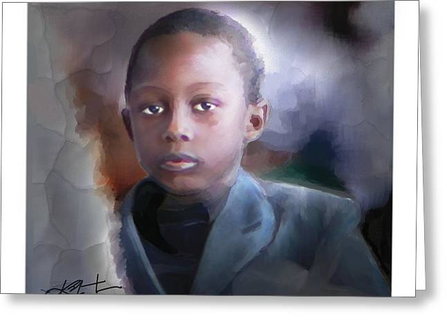 Haitian Digital Greeting Cards - Phillipe Greeting Card by Bob Salo