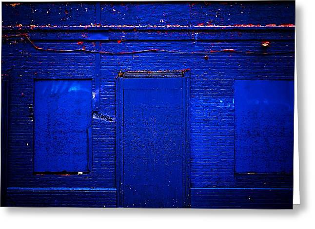 Philly Blues Greeting Card by Beth Akerman
