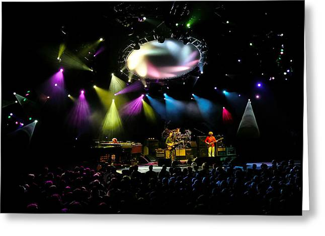 Trey Anastasio Greeting Cards - Phish at Alpine Valley Greeting Card by Shawn Everhart