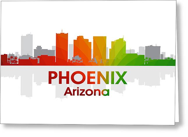 Industrial Icon Greeting Cards - Phoenix AZ  Greeting Card by Angelina Vick