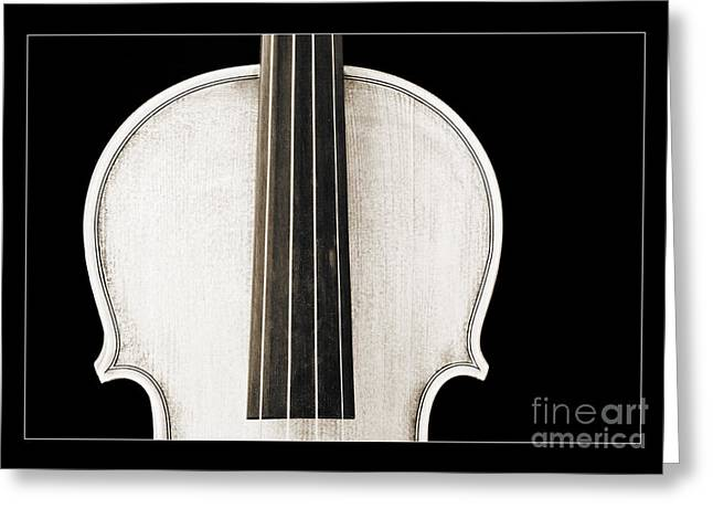 Still Life Photographs Greeting Cards - Photograph or Picture Viola Violin Body in Sepia 3367.03 Greeting Card by M K  Miller