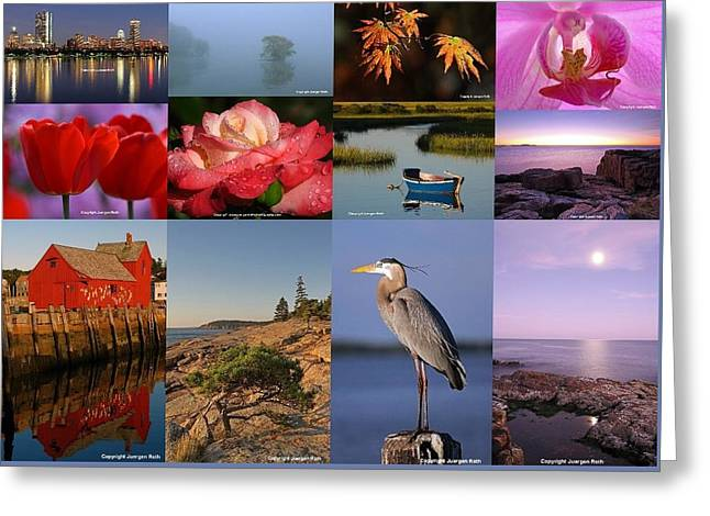 Photographing Light Greeting Card by Juergen Roth
