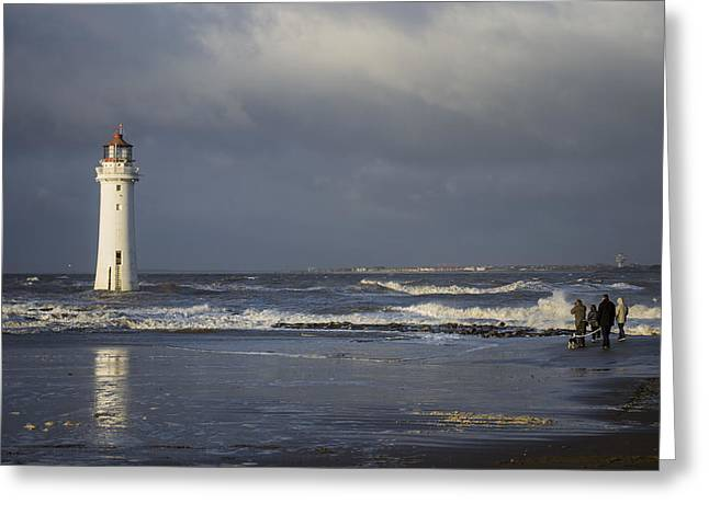 Lighthouse Greeting Cards - Photographing The Photographer Greeting Card by Karen Lawrence  SMPhotography