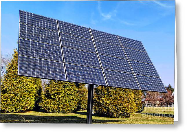 Photovoltaic Greeting Card by Olivier Le Queinec