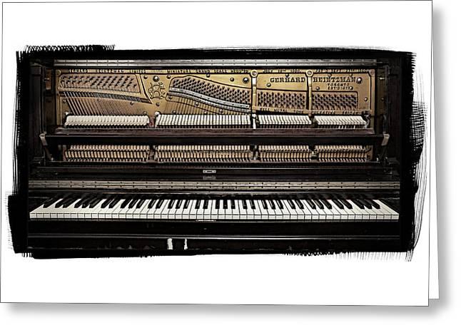Piano 2 Greeting Card by Patrick Chuprina