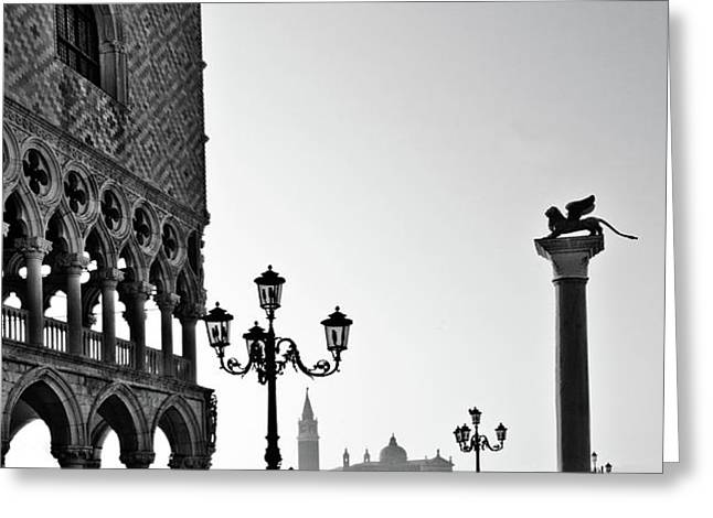 Piazza San Marco Greeting Card by Marion Galt