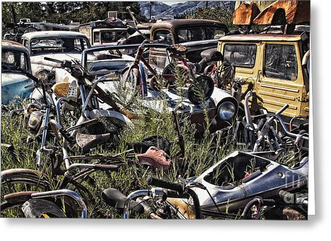 Fineartphotography Greeting Cards - Pickers Place Paradise Visited  Greeting Card by Lee Craig
