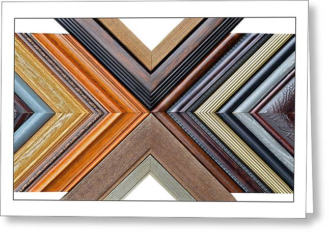 Picture Frame Art Greeting Card by Susan Leggett