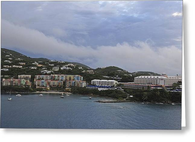 Picture Perfect Saint Thomas  Greeting Card by Willie Harper