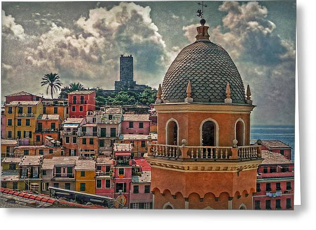 Margherita Greeting Cards - Picturesque Cinque Terre Greeting Card by Hanny Heim