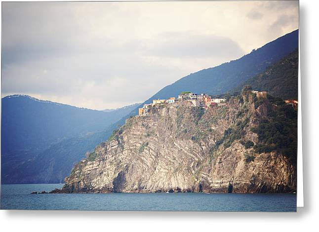 Monterosso Greeting Cards - Picturesque Greeting Card by Kim Fearheiley