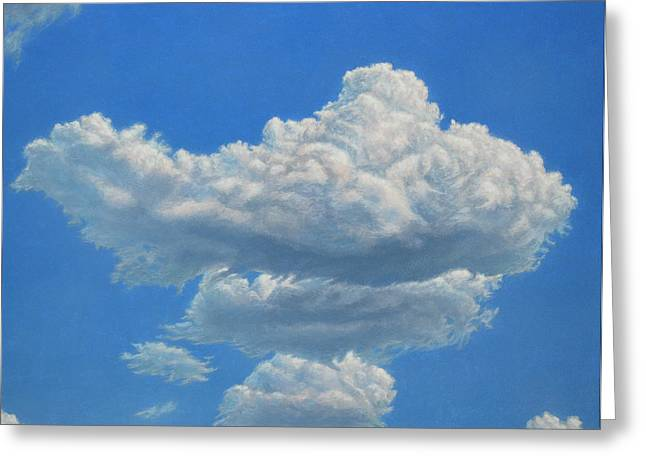Skies Greeting Cards - Piece of Sky 3 Greeting Card by James W Johnson