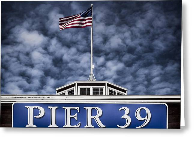 Historic Architecture Greeting Cards - Pier 39 Greeting Card by Dave Bowman