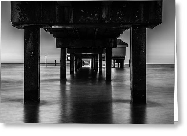 In The End I Greeting Cards - Pier Under II Greeting Card by Steven Reed