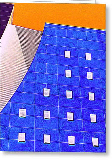 Curvilinear Greeting Cards - Pig Eye Windows Greeting Card by Randall Weidner