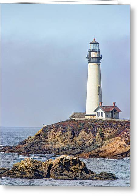 Pigeon Point Light Station Greeting Cards - Pigeon Point Greeting Card by Heidi Smith
