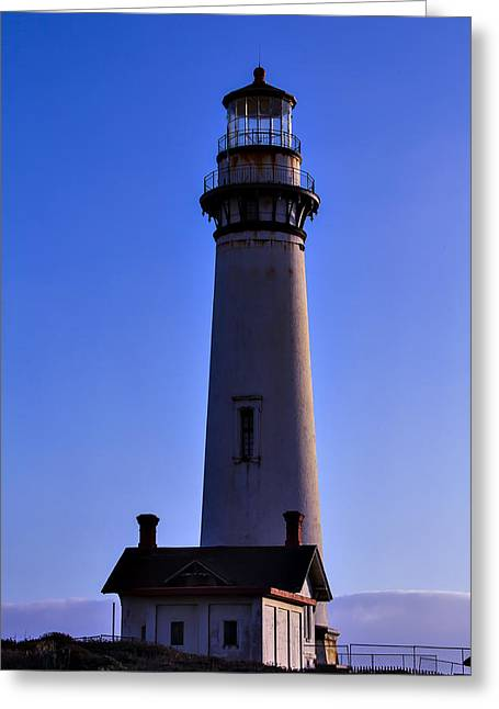 Pigeon Point Light Station Greeting Cards - Pigeon Point Lighthouse 2 Greeting Card by Garry Gay