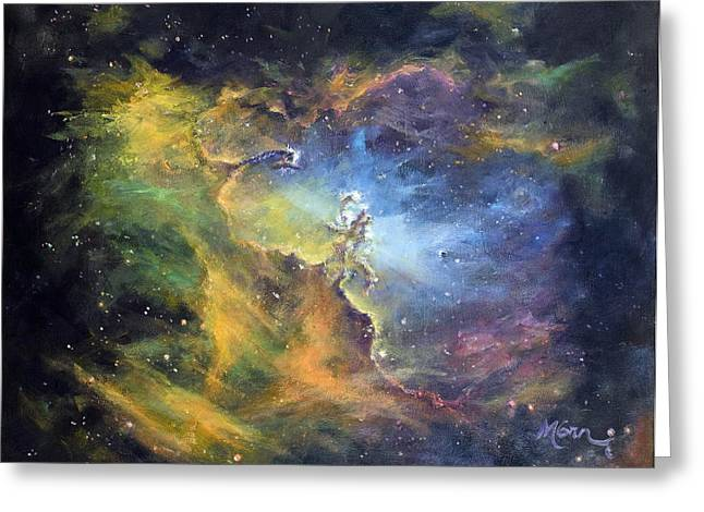 Pillars Of Creation Greeting Card by Marie Green
