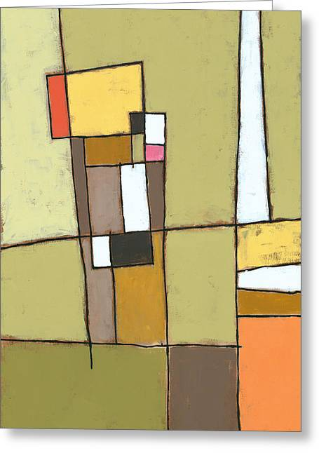 Best Sellers -  - Abstract Shapes Greeting Cards - Pimento Greeting Card by Douglas Simonson