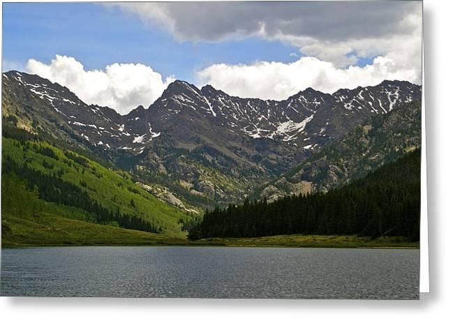 Piney Lake Vail Colorado Greeting Card by Kristina Deane